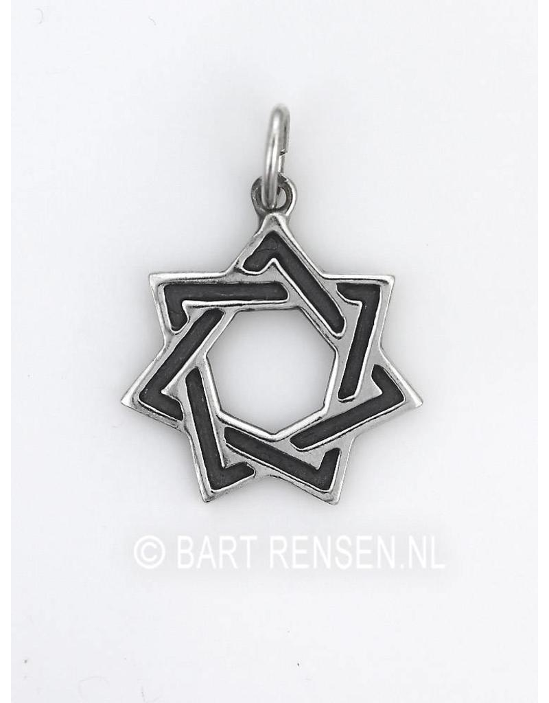Seven Star Pendant - sterling silver