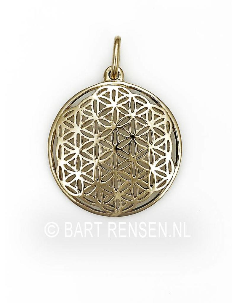Flower of Life pendant - 14 carat gold