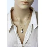 Yin-Yang pendant - sterling silver-