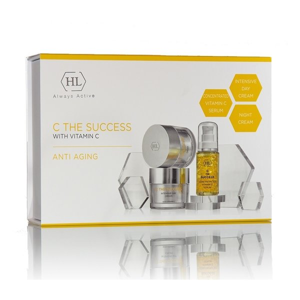 HL Cosmetics HL Cosmetics Anti Aging Kit met 3 producten C The Succes