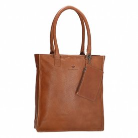 MicMacbags Micmacbags Golden Gate shopper cognac