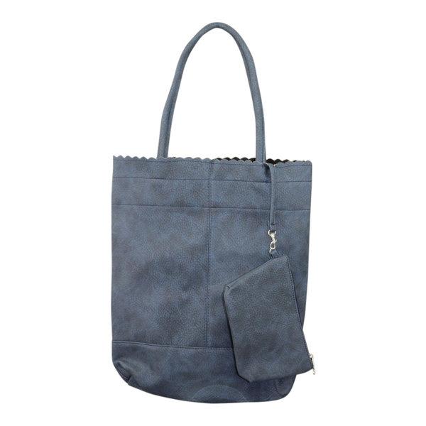 Shopper blauw