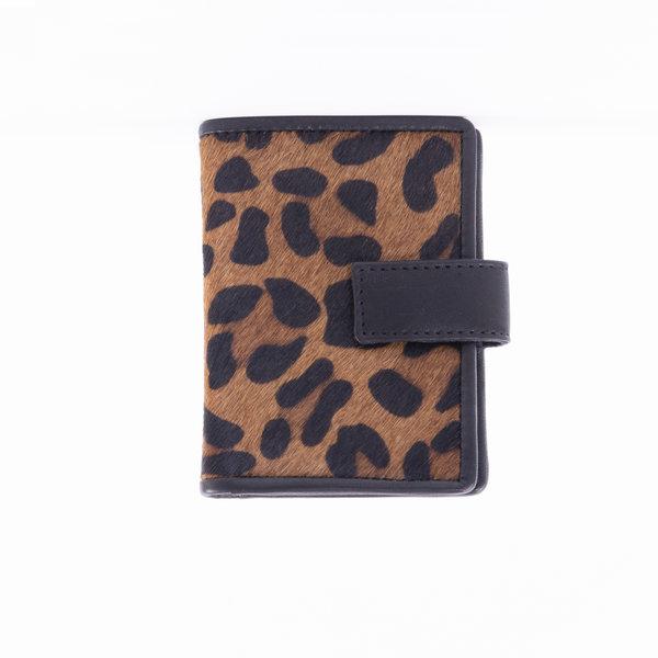 DSTRCT DSTRCT Wild Portemonnee leopard bruin