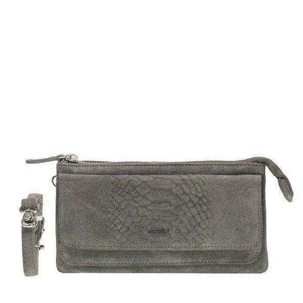 DSTRCT Portland Road portemonnee / klein tasje grijs