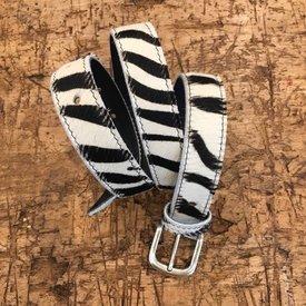 Zebra riem  breed