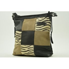 Bag2Bag Lagos zebra black
