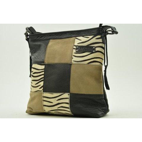 Bag2Bag Lagos zebra black
