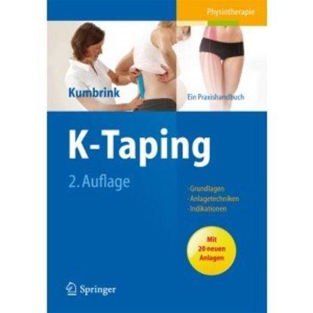 K-Taping - ein Praxishandbuch von Birgit Kumbrink (in deutscher Sprache)
