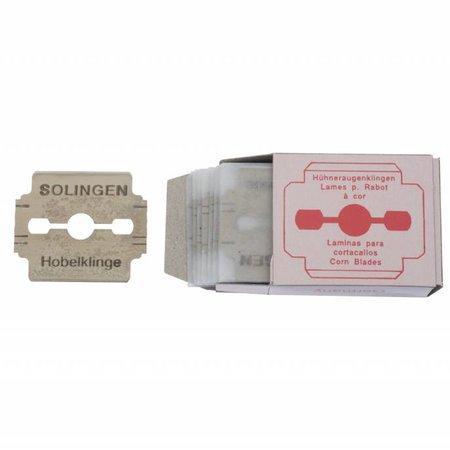 Borghetti Pharma Klingen für Hornhauthobel, 10 Stk.