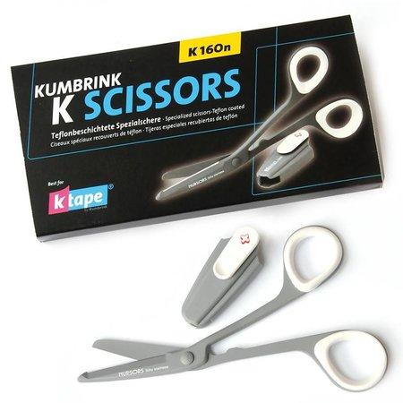 K-Scissors Ciseaux de taping K160n avec lames en téflon
