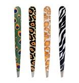 Hausmann Pinzetten aus Inox-Stahl im Wildlife-Design