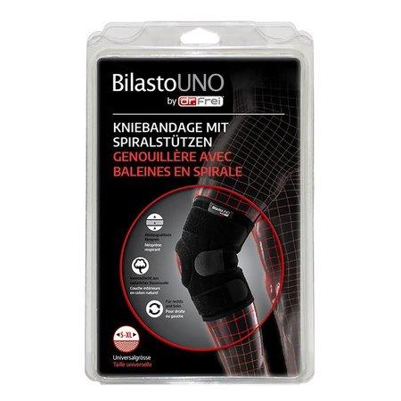 BilastoUNO Kniebandage mit Spiralstützen in Universalgrösse S-XL