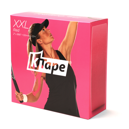 K-Tape XXL rouge 5cm x 22m