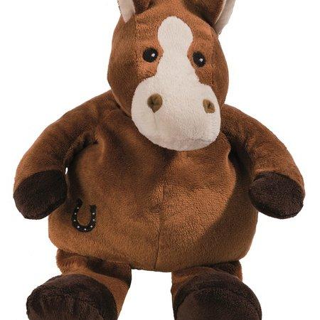 Peluche chauffante cheval