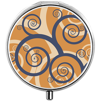 Pilulier Fancy rond