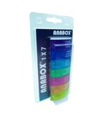 Anabox Pilulier semaine, 1 case par jour