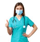 Medtex Medizinische Einwegmaske Typ IIR, Pack à 50 Stk.