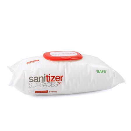 Saniswiss Sanitizer Surface S1 Wipes 100 pcs. - Désinfection des surfaces