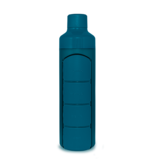YOS Bottle Bouteille d'eau avec t pilulier, 1 jour, 4 cases