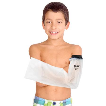 Limbo Bade- und Duschschutz ganzer Arm für Kinder