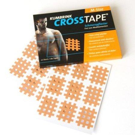 Crosstape Grösse M Schmerz- und Akupunkturtape