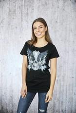 Damen T-Shirt Wings flat
