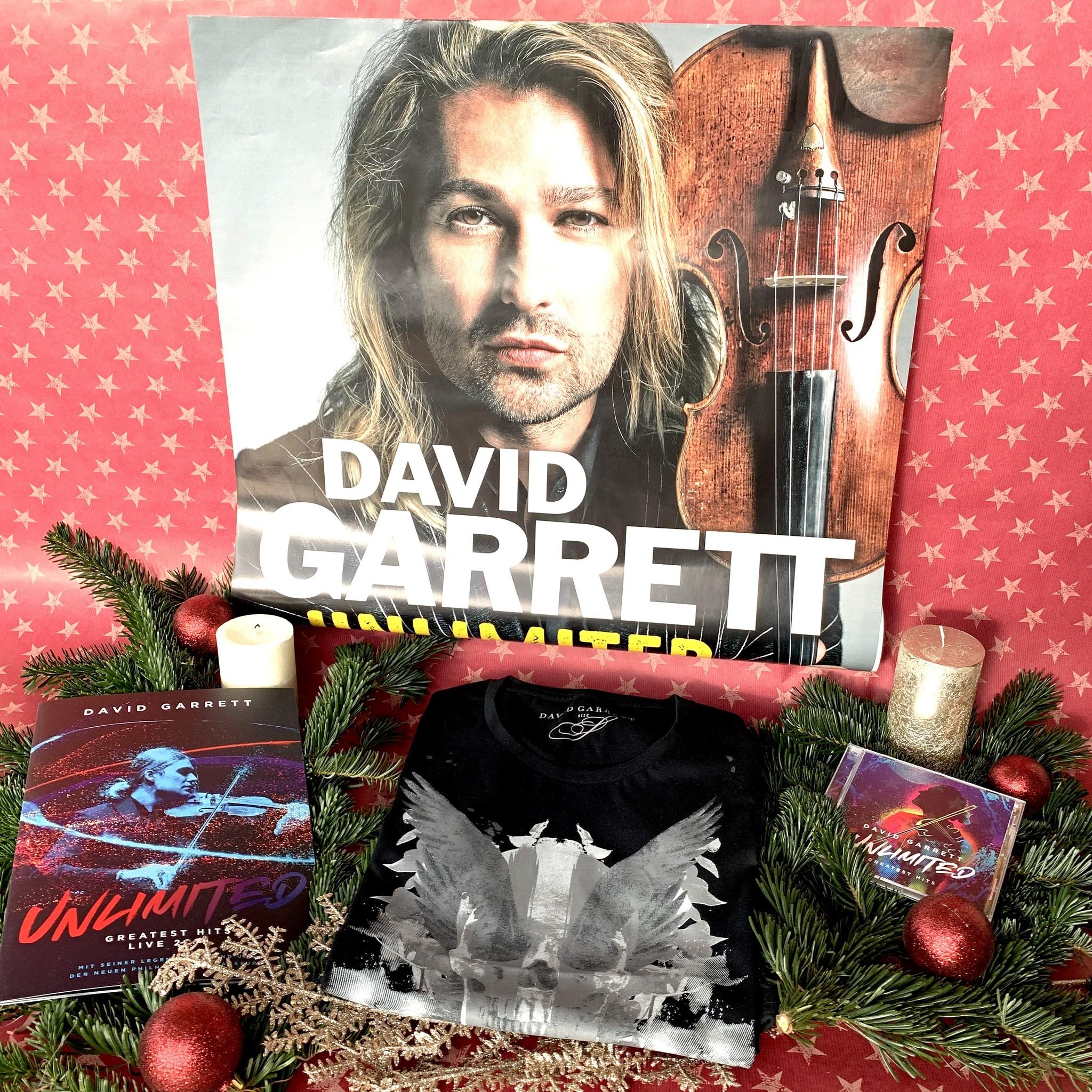 Weihnachtspaket Unlimited Skull schwarz mit CD