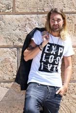 Herren Shirt Explosive weiss