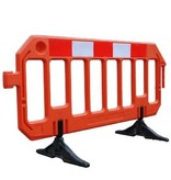 Barrière de chantier GATEBARRIER orange 1000 x 2000 mm