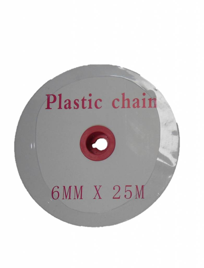 Plastic chain - Ø 6 MM - 25 M