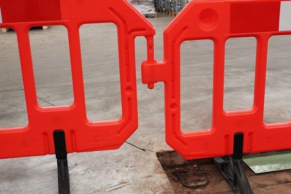 GATEBARRIER in polyethyleen orange 1000 x 2000 mm