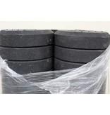 Rond voetstuk 25 kg uit gerecycleerde PVC 25 kg