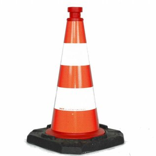 Traffic Cone  fully reflective - 50 cm
