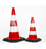 Traffic Cone  fully reflective - 75 cm