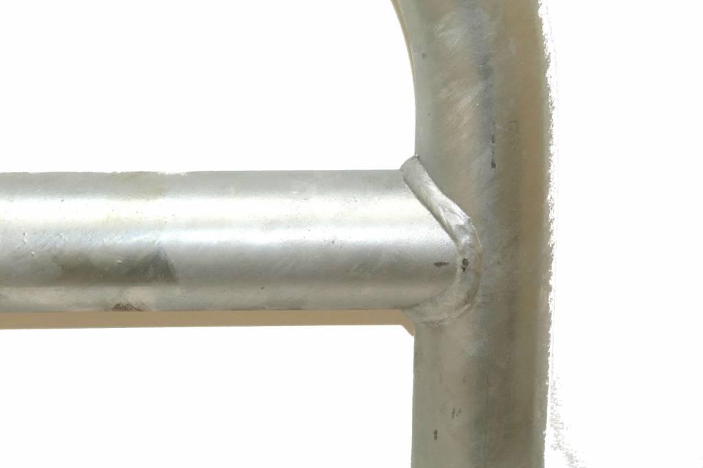 Fietsbeugel met tussenbuis 600 x 1050 - gegalvaniseerd