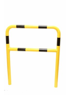 Protection barrier with crossbar