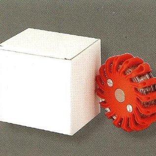 Lampe de détresse à 16 LED - orange - rechargeable