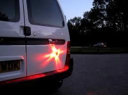 16 LED waarschuwingslamp - oranje - oplaadbaar