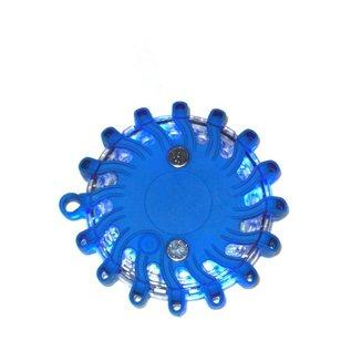 Lampe de détresse à 16 LED - bleue - rechargeable
