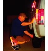 LED Traffic baton - orange - rechargeable