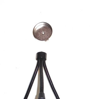 LED Toortslamp - blauw  oplaadbaar