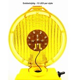 Road warning lamp STARFLASH 2000 - double sided - yellow