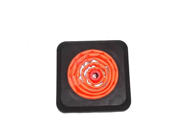 Verzwaarde opvouwbare kegel met ingebouwde  LED