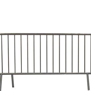 Crowd control barrier/ Police barrier 18 bars - 250 x 110 cm