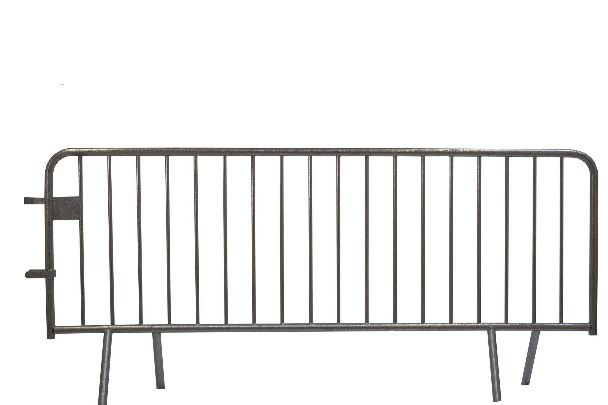 Crowd control barrier/ Police barrier 18 bars - 250 x 110 cm