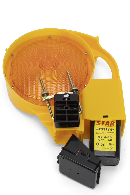 Werflamp STAR 6000 - dubbelzijdig - geel