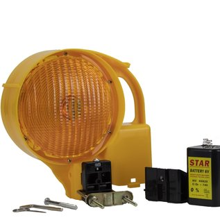 Warning lamp STAR 6000 - double sided - yellow