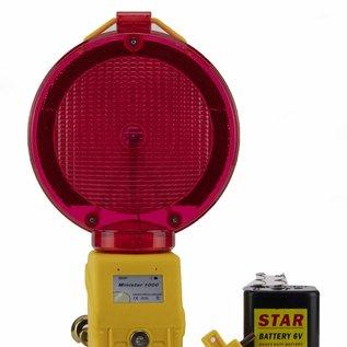 STAR Warning lamp MINISTAR 1000 - red