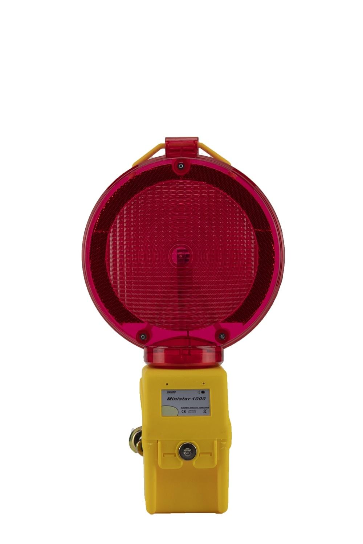 STAR Lampe de chantier MINISTAR 1000 - rouge