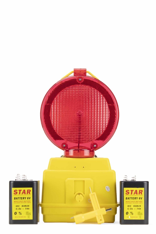 STAR Lampe de chantier STAR 2000 - rouge